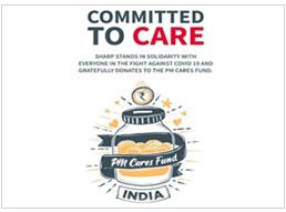 SHARP Contribute towards PM-CARES Fund