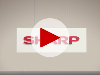 "Sharp PN-R903A – 90"" class Professional LCD Display"