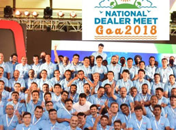 Sharp organized National Dealer Meet in Goa 2018